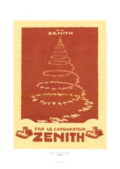 Aviation Art Poster: AU ZENITH - PAR LE CARBURATEUR, 1924