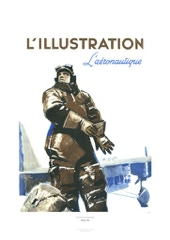 Aviation Art Poster: L'ILLUSTRATION L'AÉRONAUTQUE, 1936