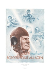 Aviation Art Poster: LGW HAKENFELDE - BORDTELEFONIE ANLAGEN, 1938-1942