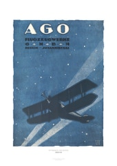 Aviation Art Poster: AGO FLUGZEUGWERKE - BERLIN-JOHANNISTHAL, 1918