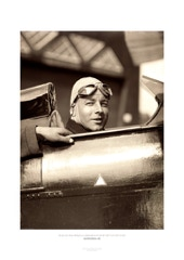 "Aviation Photo Print: The late actor Heinz Rühmann as a student pilot on his DH 60 ""Moth"" (C/N 1097) D-1612, 1931"